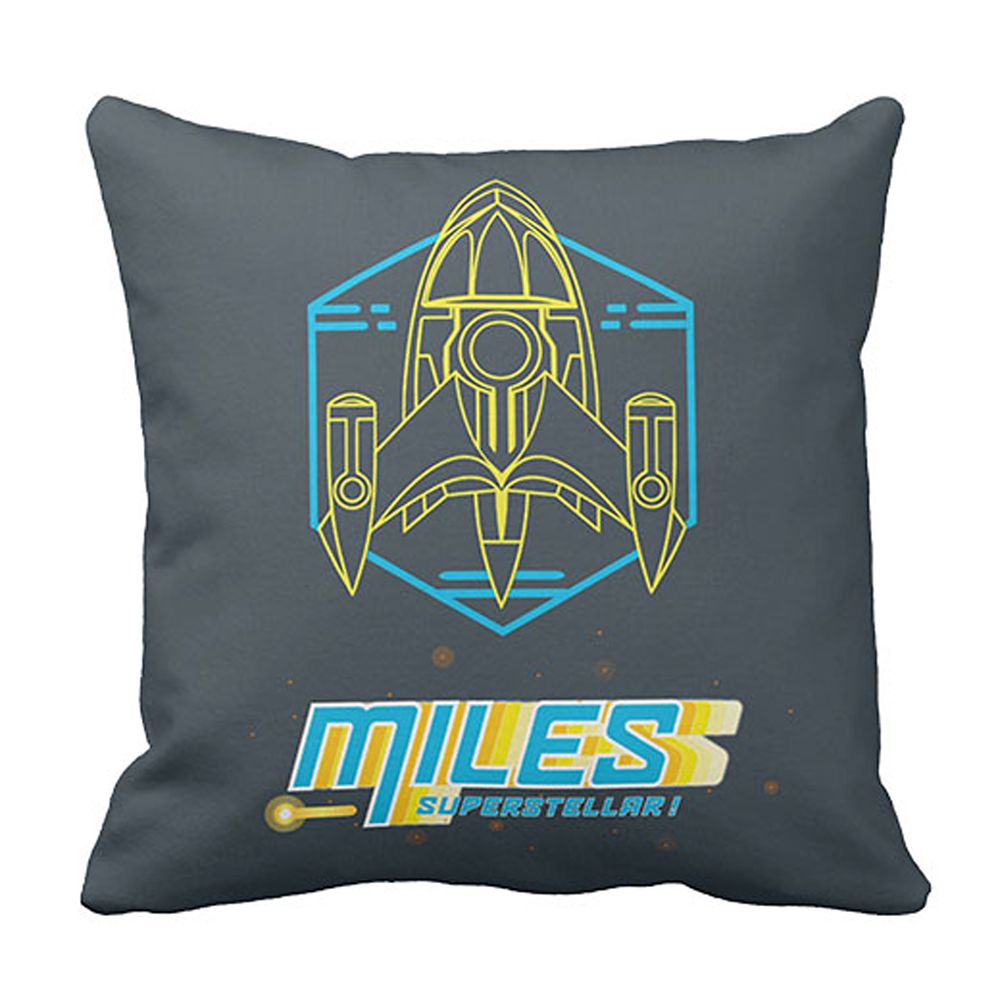 Miles from Tomorrowland Stellosphere Throw Pillow – Customizable