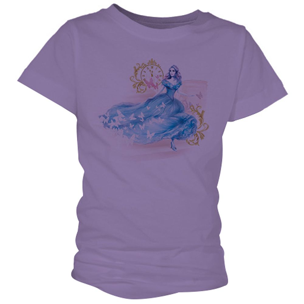 Cinderella Midnight Tee for Girls – Live Action Film – Customizable