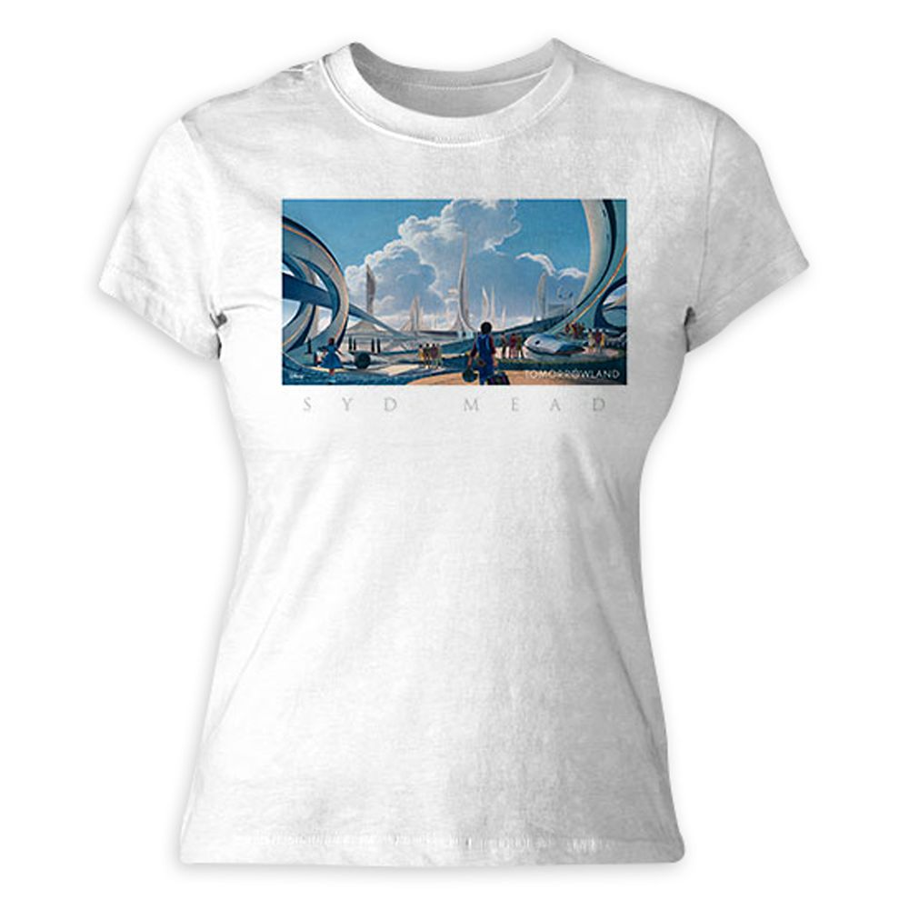 Tomorrowland Syd Mead Tee for Women – Customizable