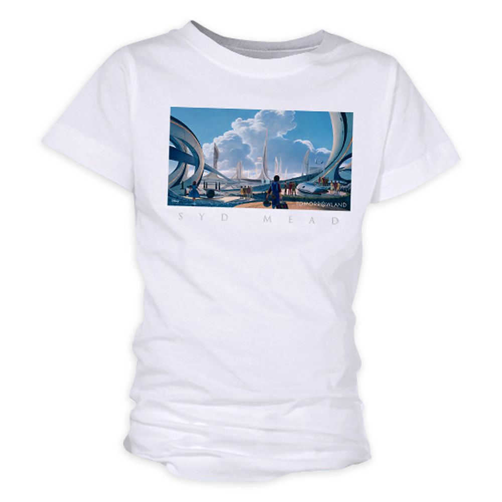 Tomorrowland Syd Mead Tee for Girls – Customizable