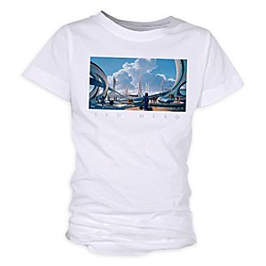 Tomorrowland Syd Mead Tee for Girls - Customizable