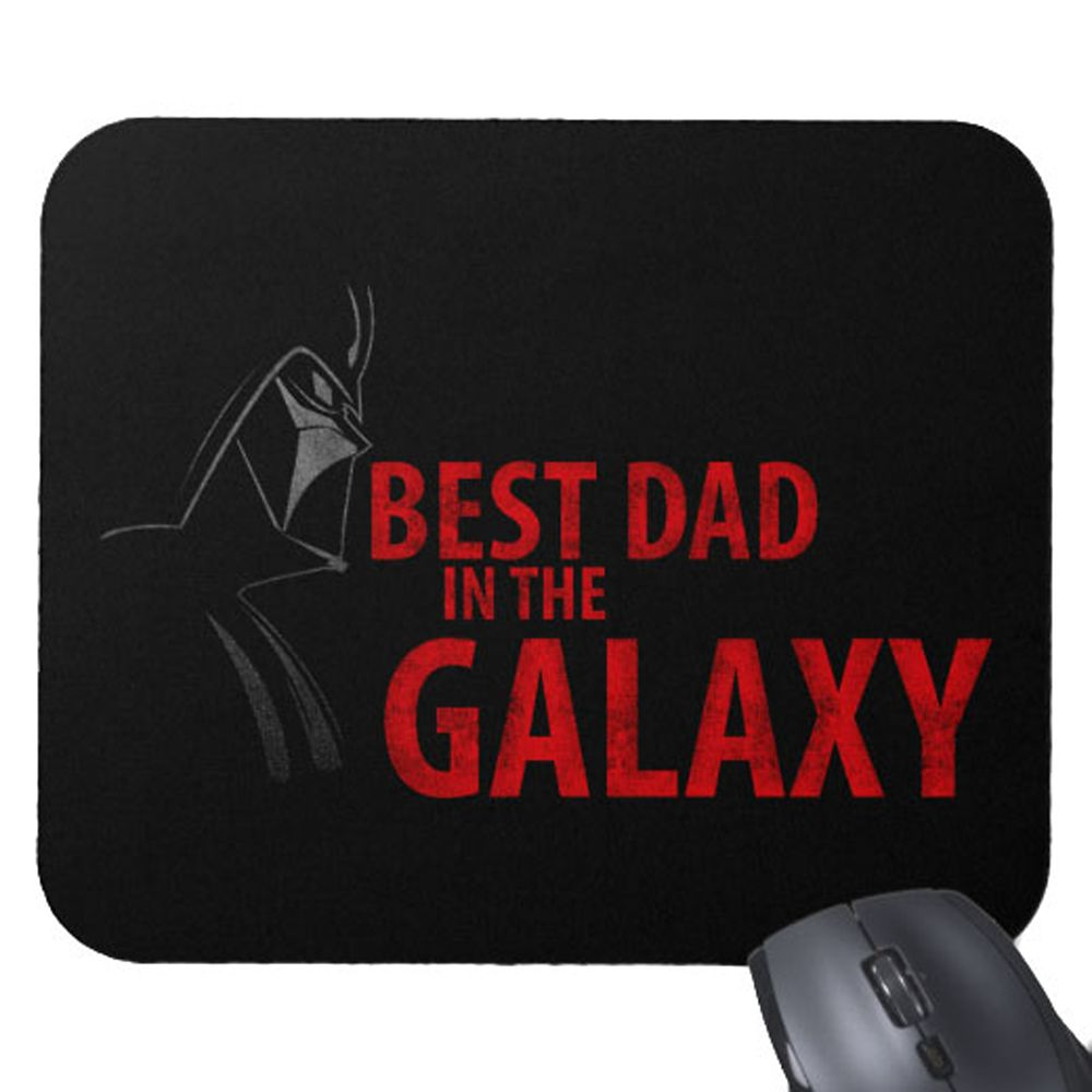 Star Wars ''Best Dad in the Galaxy'' Mouse Pad – Customizable