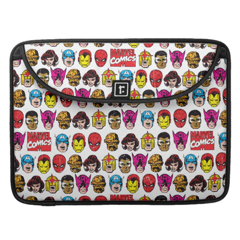 35 Amazing Marvel Gift Ideas featured by top US Disney blogger, Marcie and the Mouse: Marvel Comics MacBook Pro Sleeve Customizable Official shopDisney