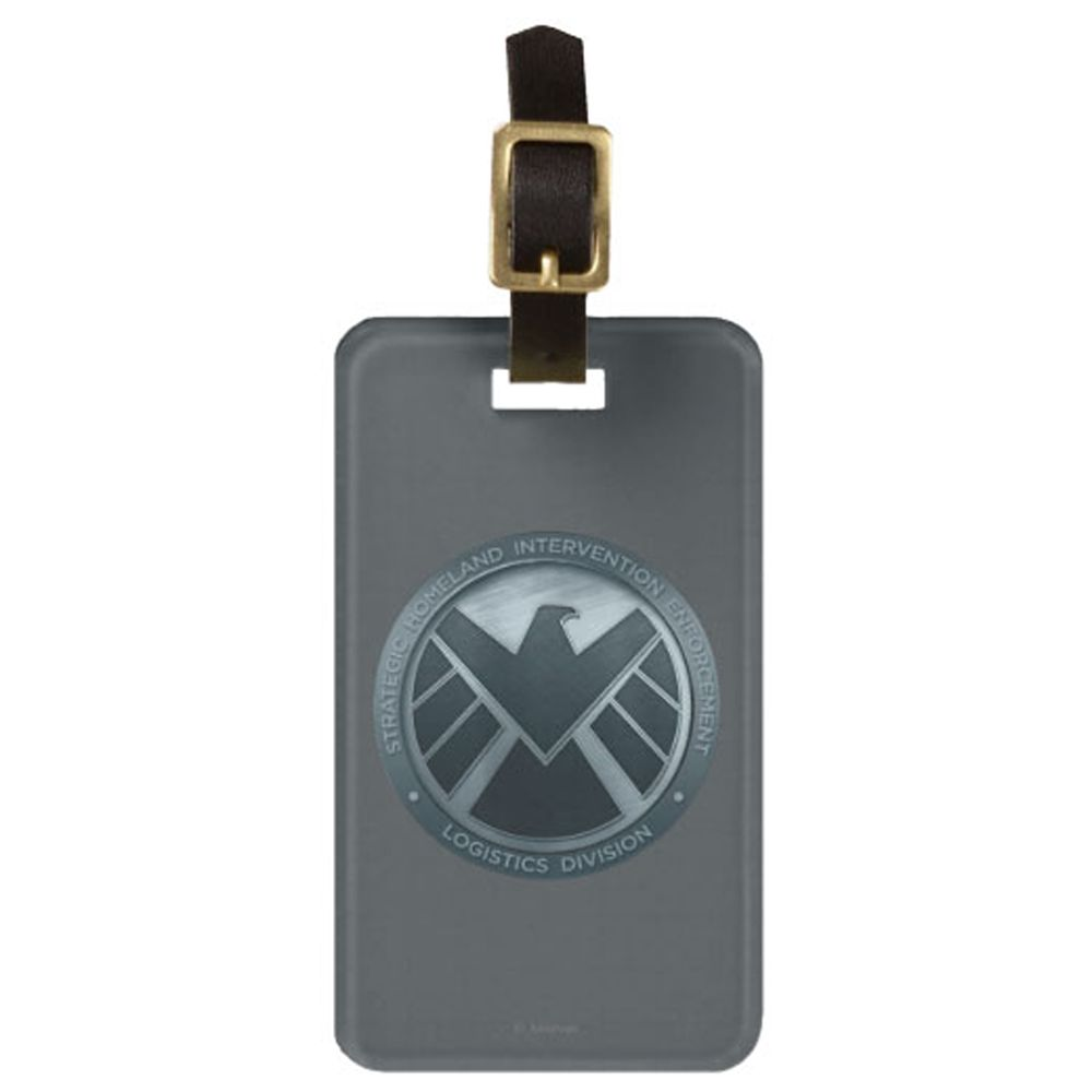 Agents of S.H.I.E.L.D. Luggage Tag  Customizable Official shopDisney