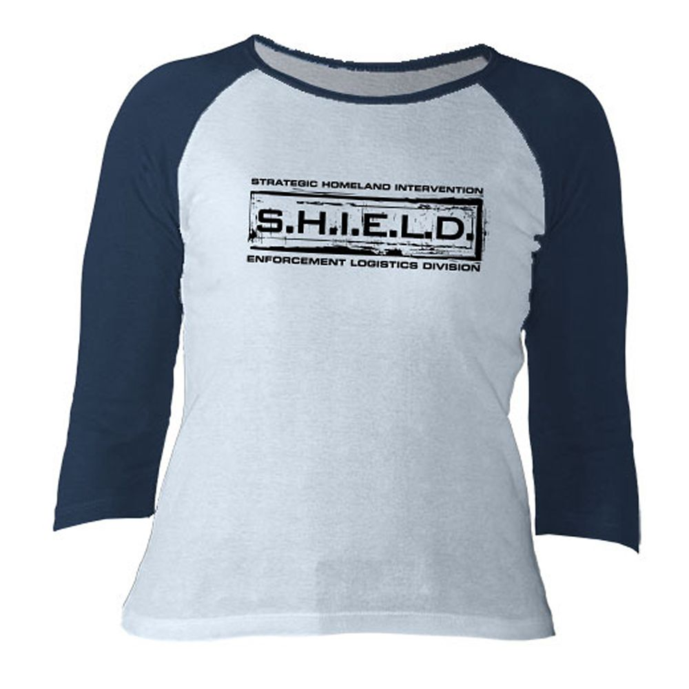 Agents of S.H.I.E.L.D. Long Sleeve Raglan Tee for Women  Customizable Official shopDisney