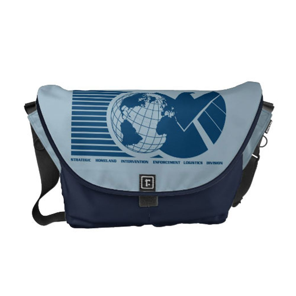 Agents of S.H.I.E.L.D. Courier Bag  Customizable Official shopDisney