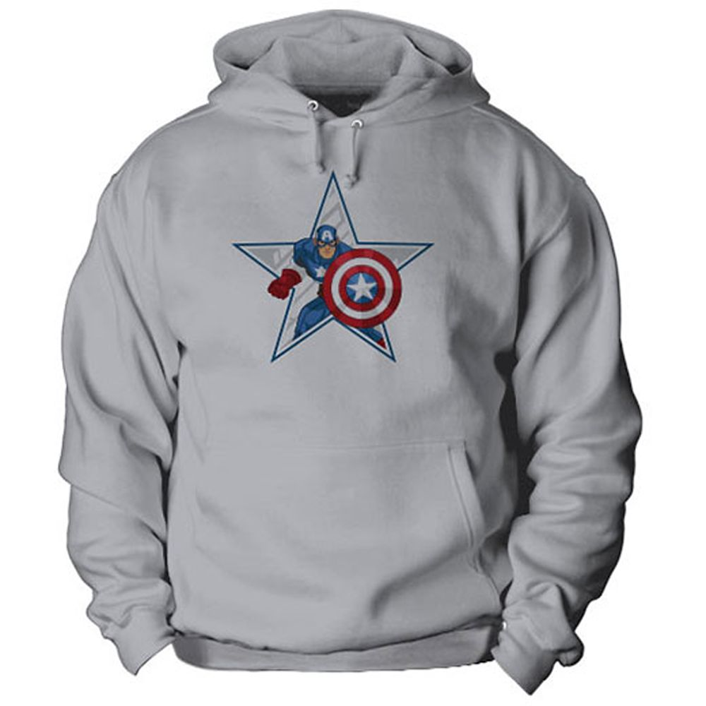 Captain America Hoodie for Kids – Customizable
