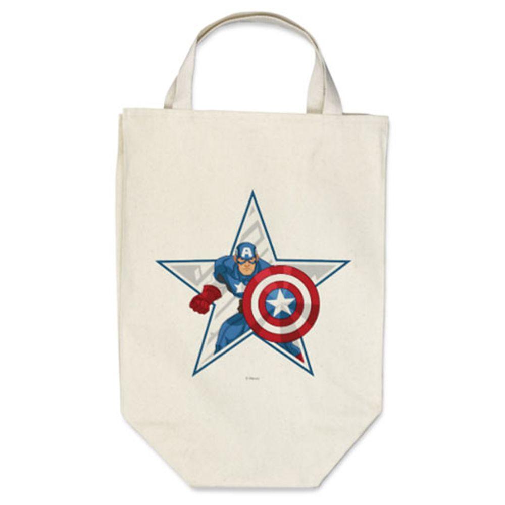 Captain America Reusable Canvas Bag – Customizable