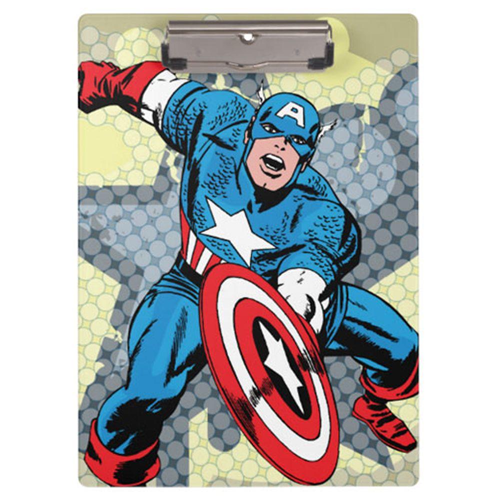 Captain America Clipboard  Customizable Official shopDisney