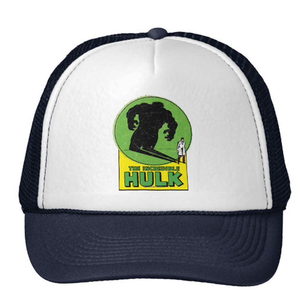 Hulk Trucker Hat for Adults – Customizable