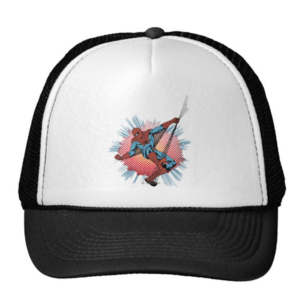Spider-Man Trucker Hat for Adults – Customizable