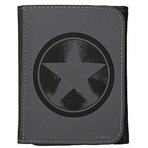 Captain America Leather Wallet for Adults – Customizable