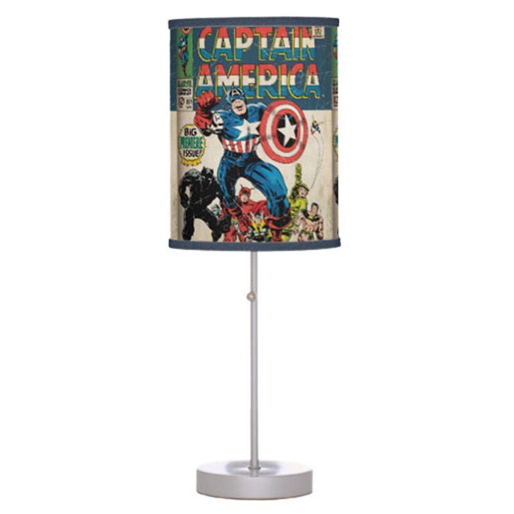 Captain America Lamp – Customizable