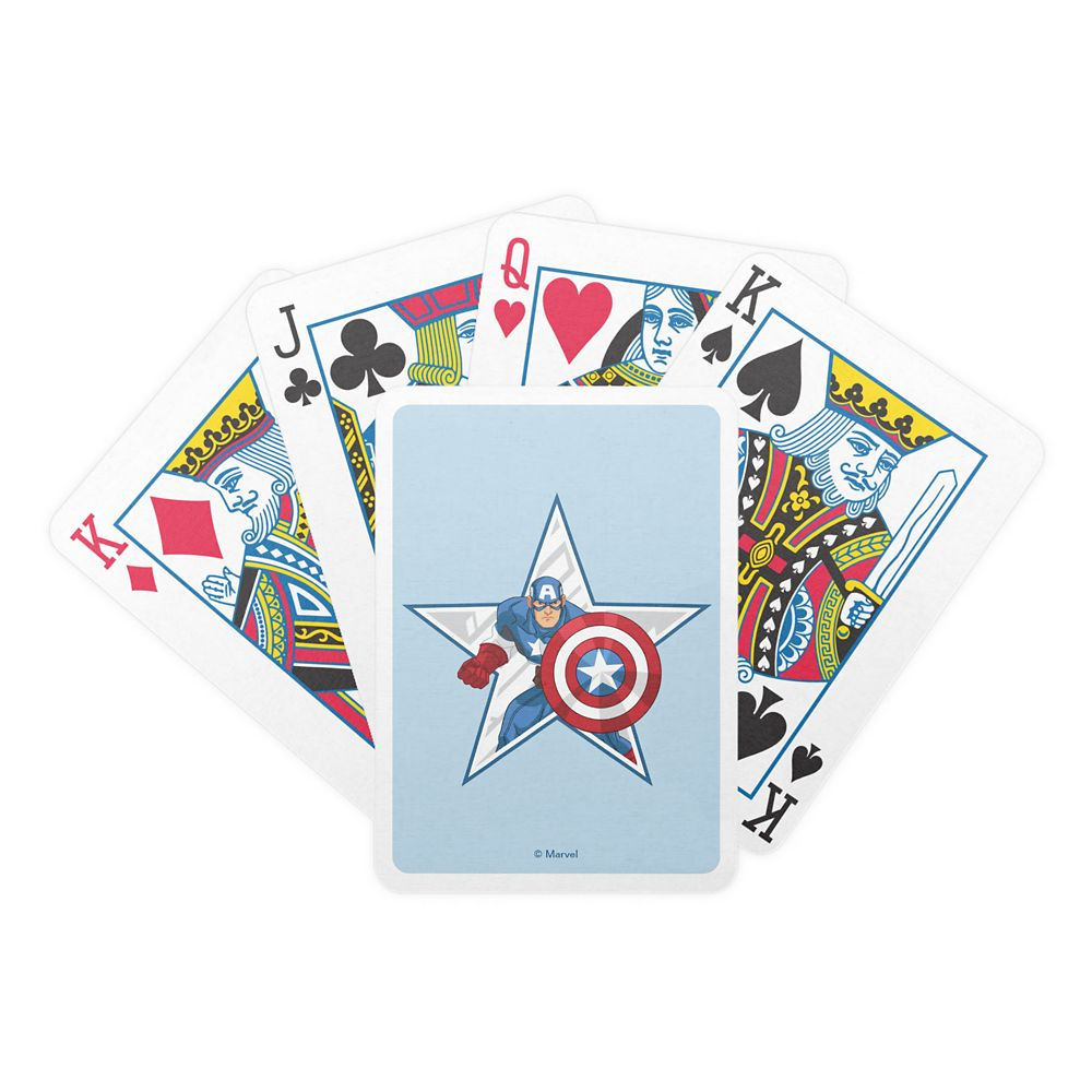 Captain America Playing Cards – Customizable