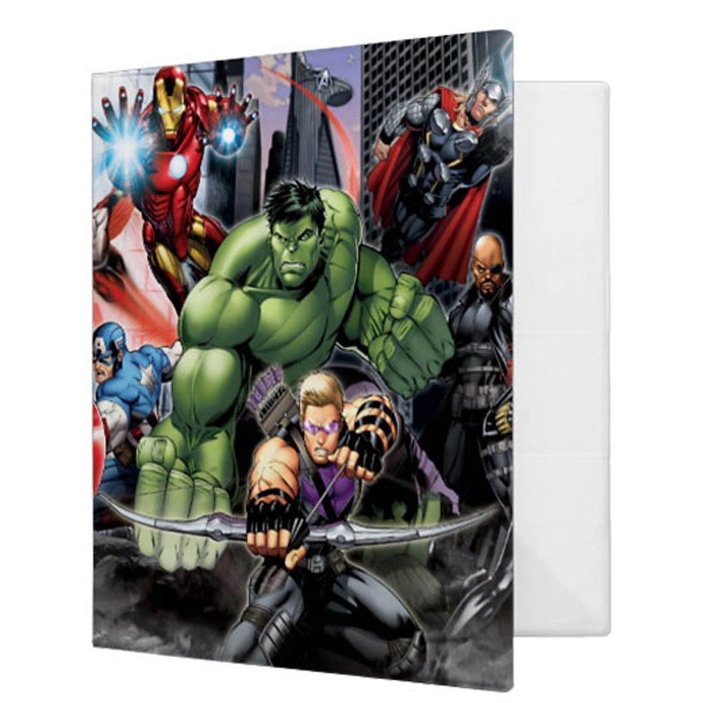 The Avengers 3-Ring Binder  Customizable Official shopDisney