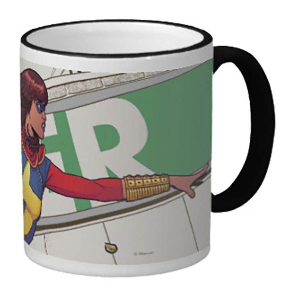 Ms. Marvel Ringer Mug – Customizable