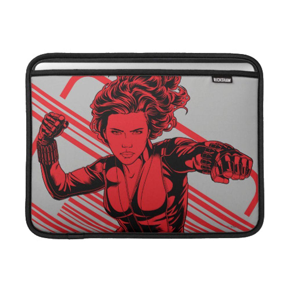 Black Widow MacBook Sleeve  Customizable Official shopDisney