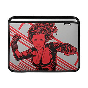 Disney Store Black Widow Macbook Sleeve  -  Customizable