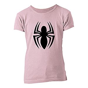 Spider-Man Logo Tee for Girls- Customizable