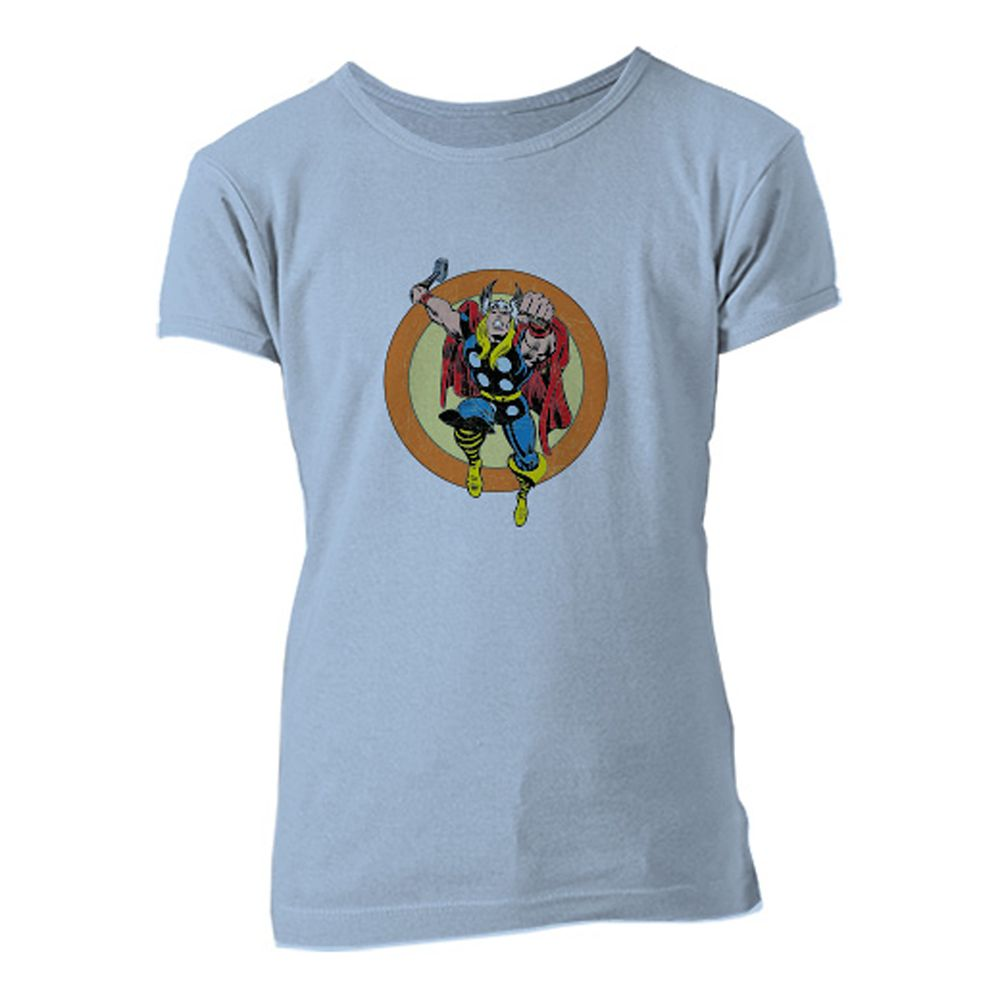 Thor Retro Tee for Girls – Customizable