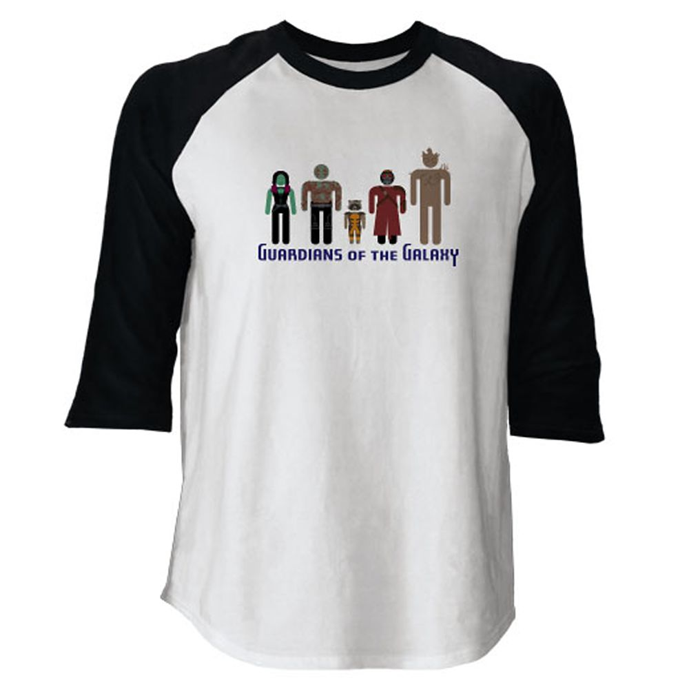 Guardians of the Galaxy Raglan Tee for Adults – Customizable