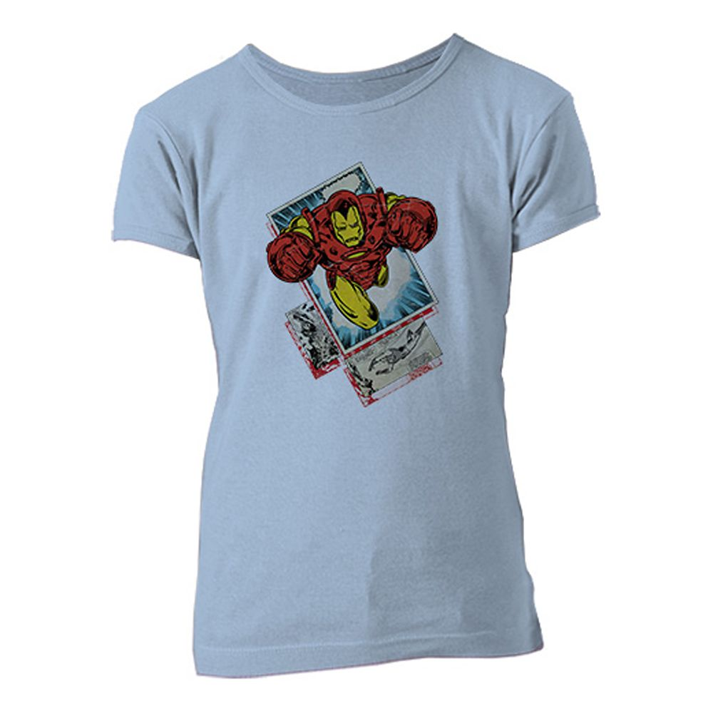 Iron Man Tee for Girls – Customizable