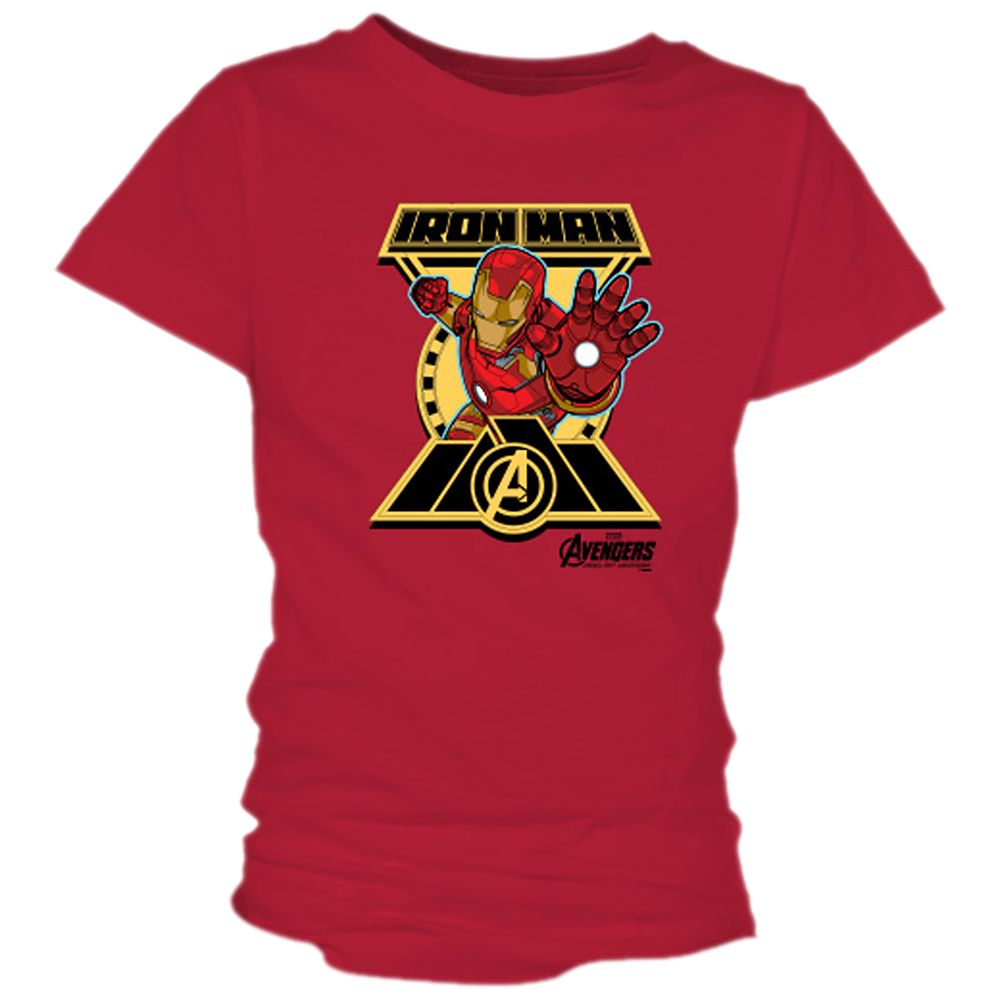 Iron Man Tee for Girls – Marvel's Avengers: Age of Ultron – Customizable