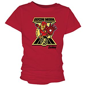 Iron Man Tee for Girls - Marvel's Avengers: Age of Ultron - Customizable 7200000911ZESP