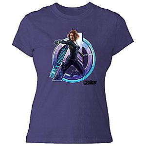 Black Widow Tee for Women - Marvel's Avengers: Age of Ultron - Customizable 7200000915ZESP
