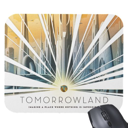 Tomorrowland Mouse Pad  Customizable Official shopDisney