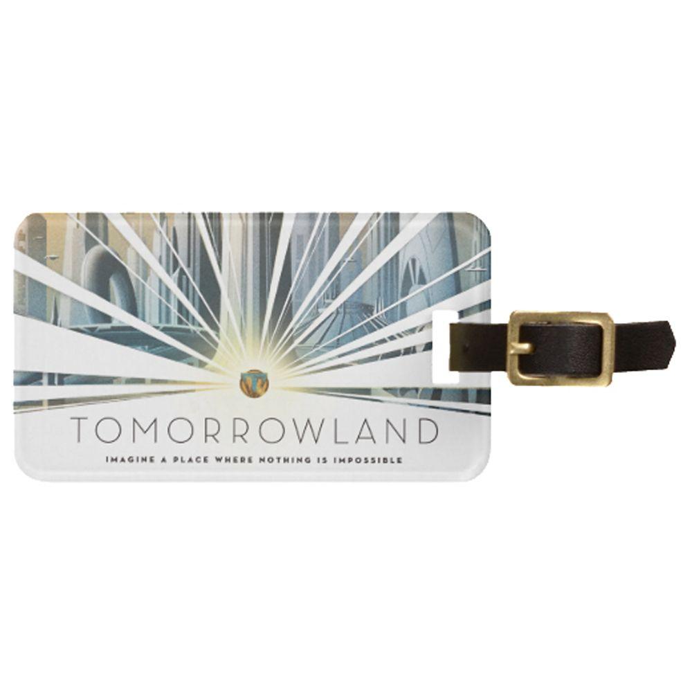 Tomorrowland Luggage Tag  Customizable Official shopDisney