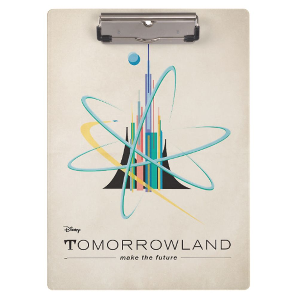 Tomorrowland Clipboard  Customizable Official shopDisney