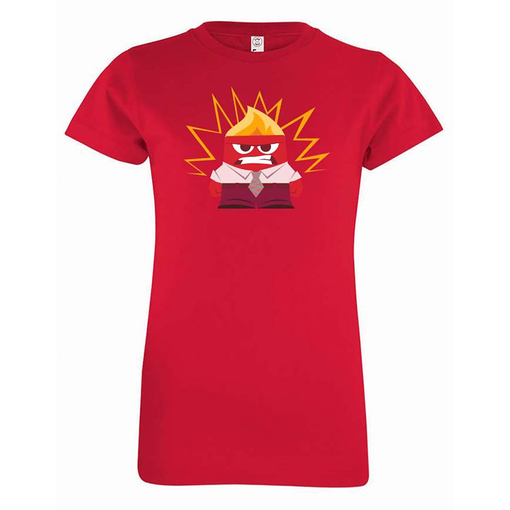 Anger Tee for Girls  PIXAR Inside Out  Customizable Official shopDisney