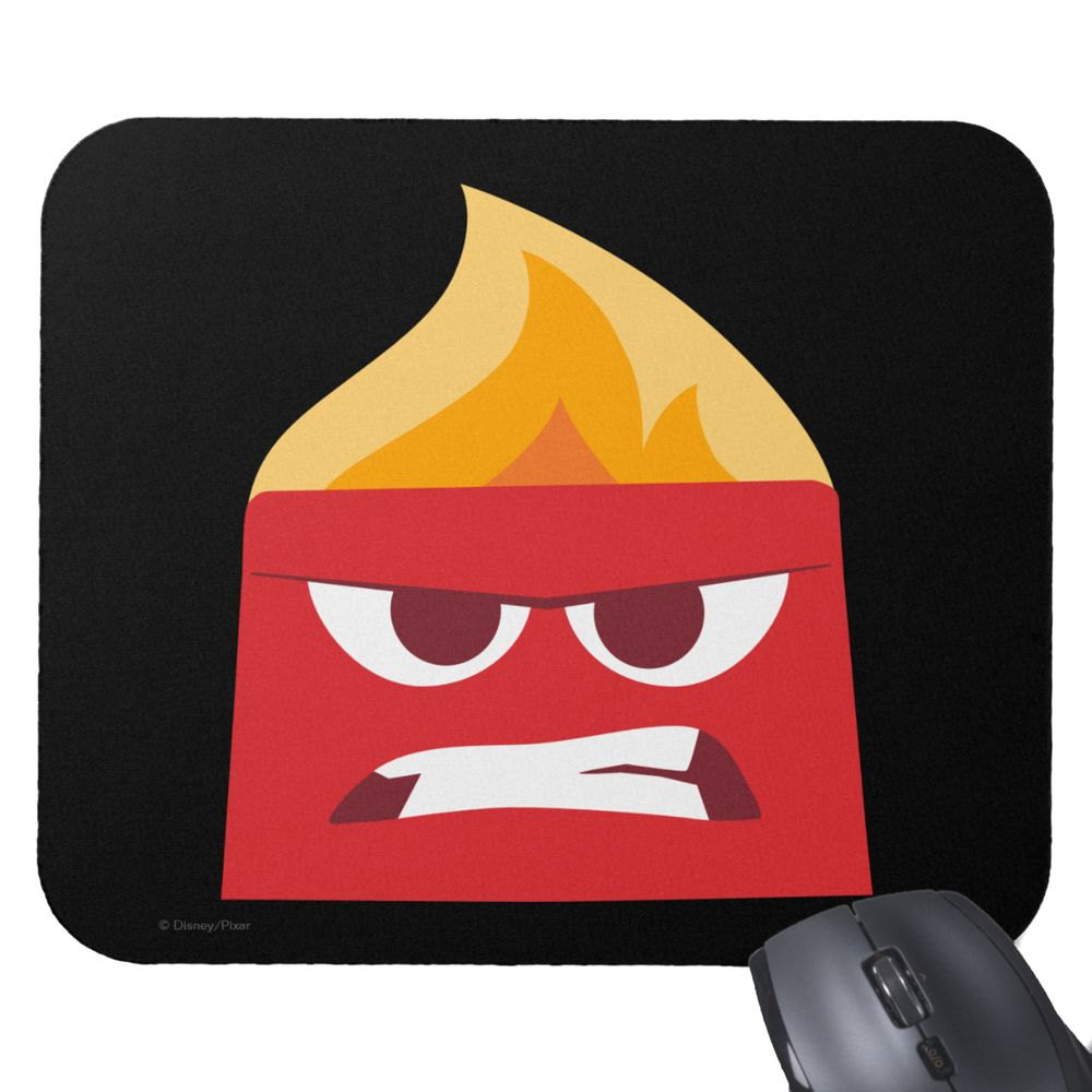 Anger Mouse Pad – PIXAR Inside Out – Customizable