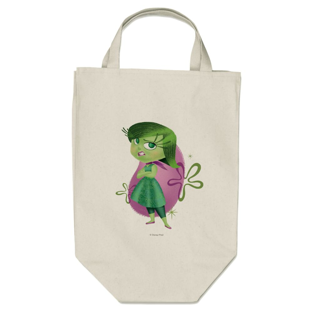 Disgust Canvas Tote Bag  PIXAR Inside Out  Customizable Official shopDisney