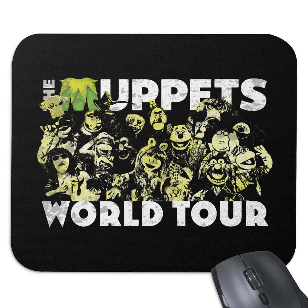 The Muppets World Tour Mouse Pad  Customizable Official shopDisney