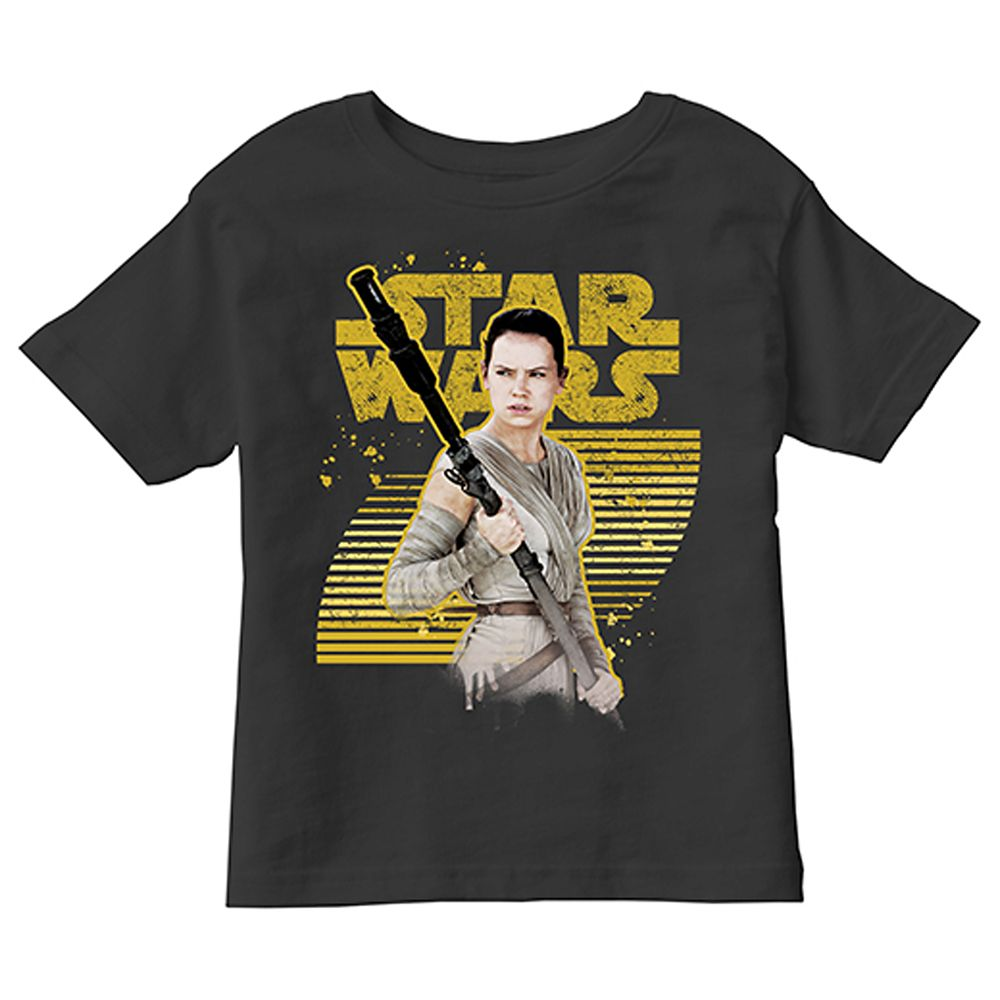 Rey Tee for Kids – Star Wars: The Force Awakens – Customizable