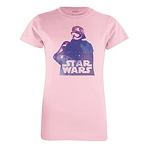 Captain Phasma Tee for Girls - Star Wars: The Force Awakens - Customizable
