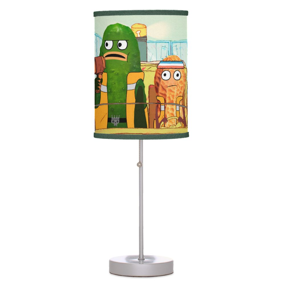 Pickle and Peanut Table Lamp – Customizable