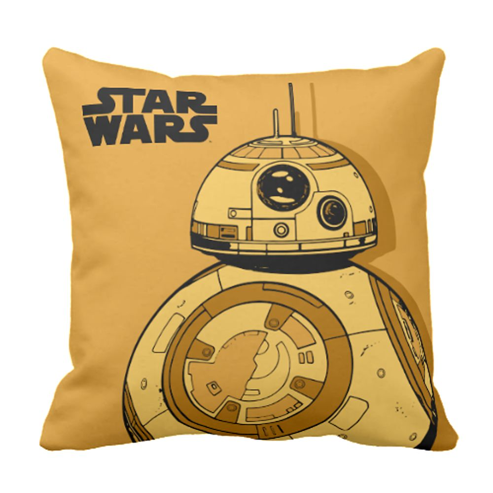 BB-8 Throw Pillow – Star Wars: The Force Awakens – Customizable
