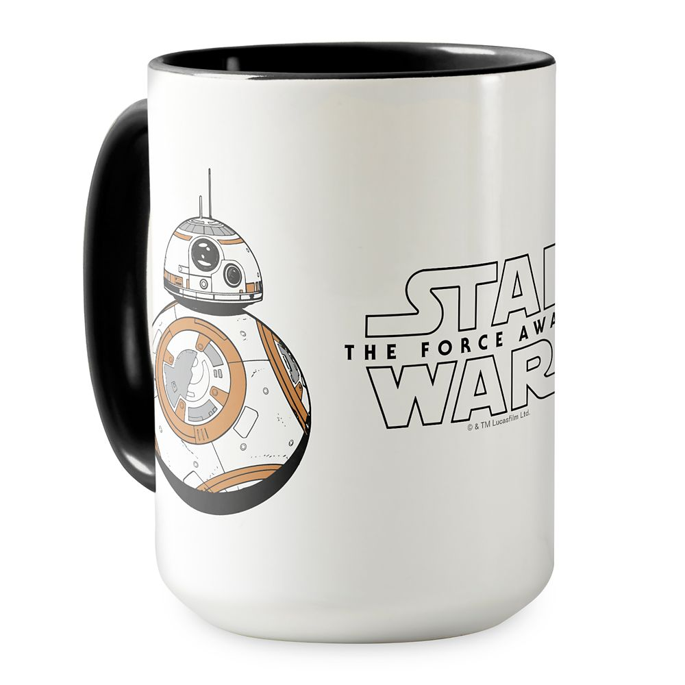 BB-8 Ringer Mug – Star Wars: The Force Awakens – Customizable