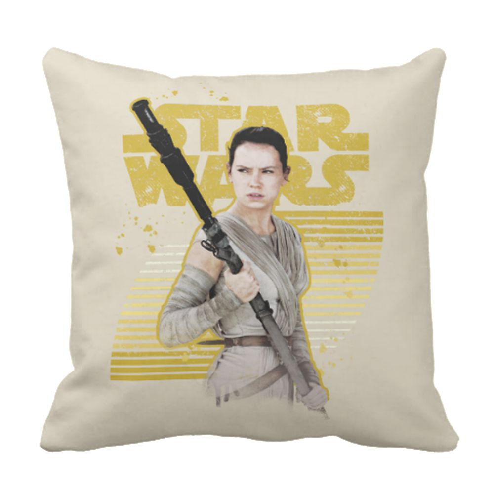 Rey Pillow – Star Wars: The Force Awakens – Customizable