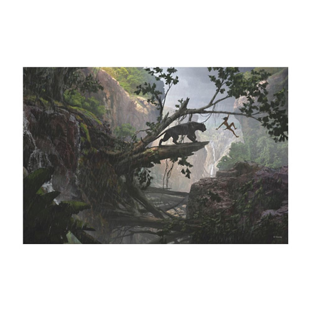 The Jungle Book ''Mystery of the Jungle'' Canvas Print – Customizable
