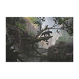 The Jungle Book ''Mystery of the Jungle'' Canvas Print - Customizable