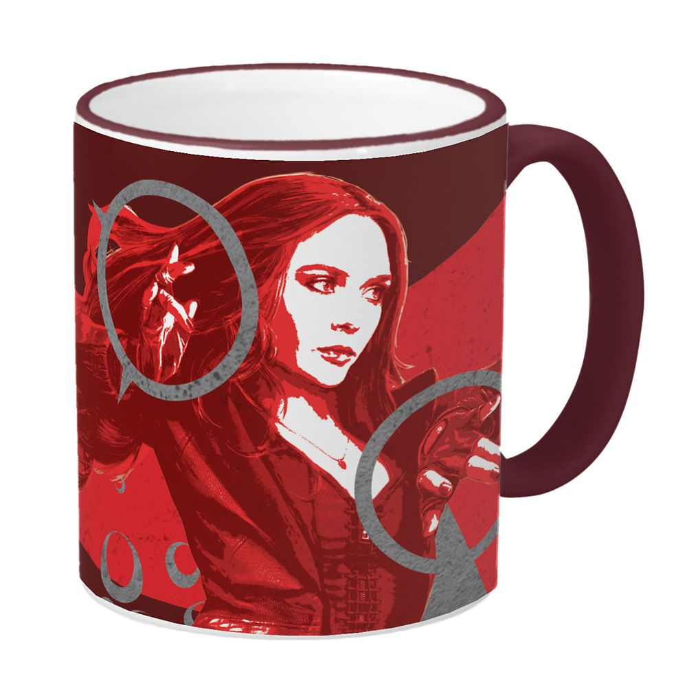 Scarlet Witch Mug – Captain America: Civil War – Customizable