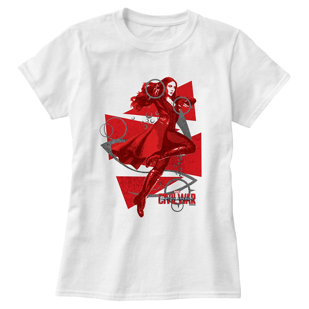Scarlet Witch Tee For Women – Captain America: Civil War – Customizable