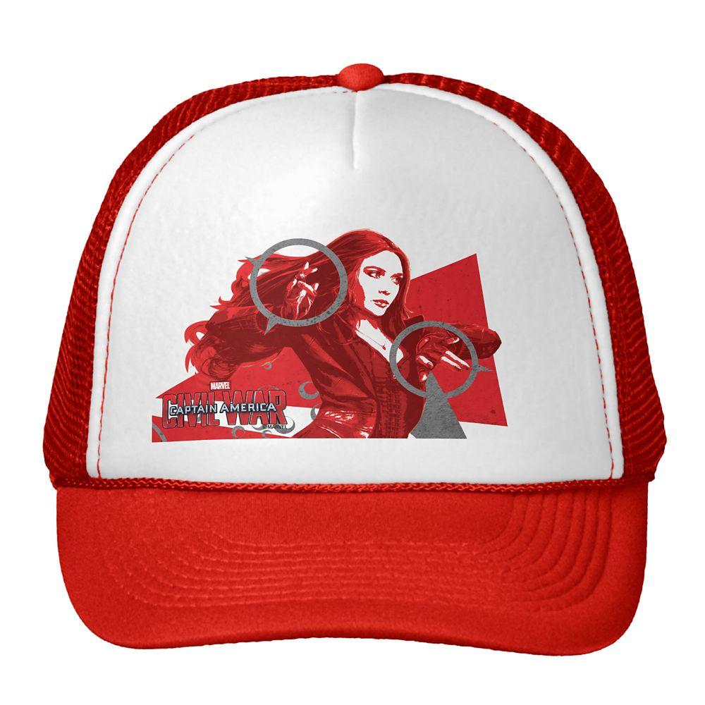 Scarlet Witch Trucker Hat – Captain America: Civil War – Customizable