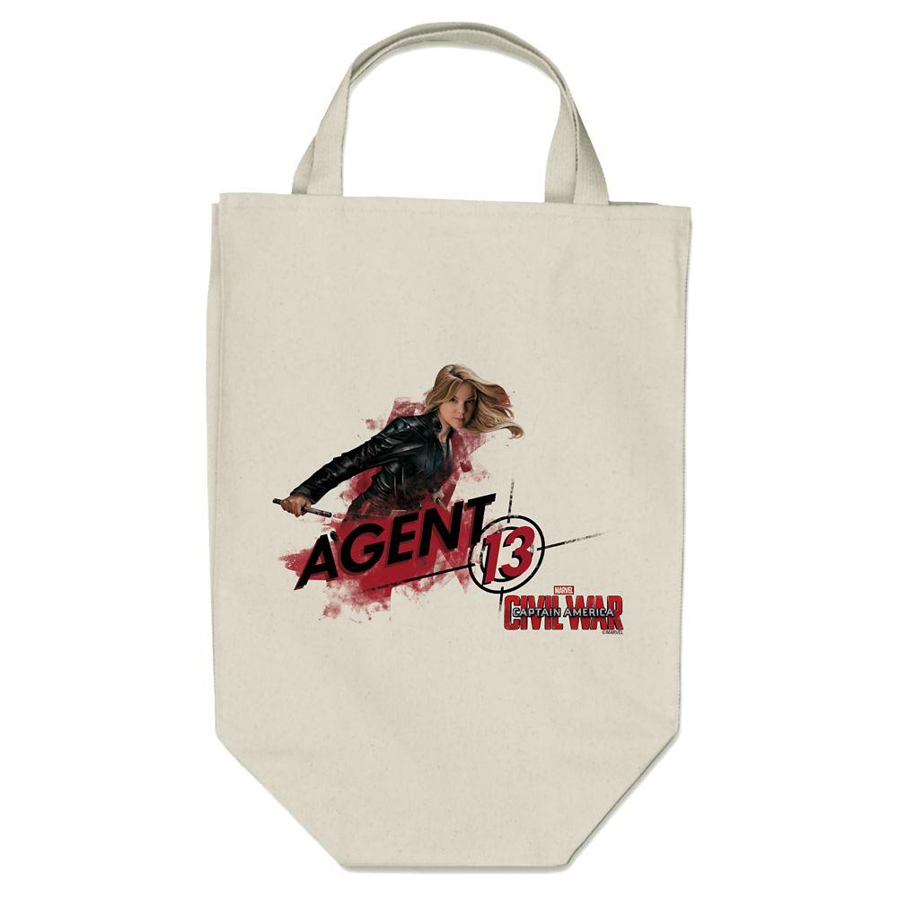Agent 13 Tote Bag  Captain America: Civil War  Customizable Official shopDisney