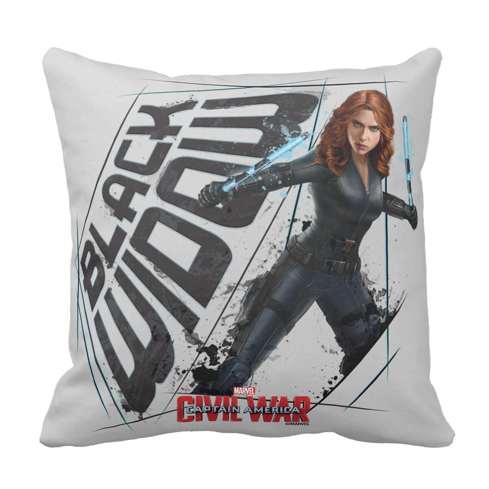 Black Widow Pillow: Captain America: Civil War – Customizable