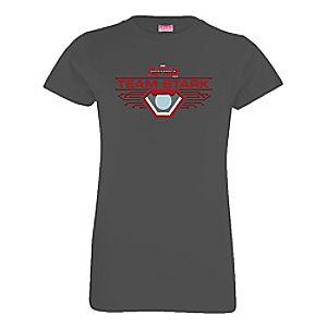 Team Stark Tee for Girls – Captain America: Civil War – Customizable
